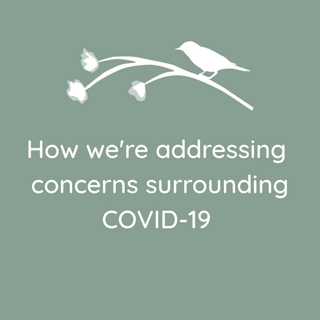 How We're Addressing Concerns Surrounding COVID-19