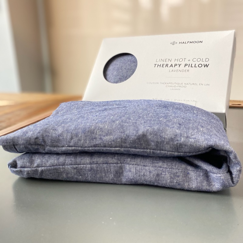Halfmoon Hot + Cold Therapy Pillow for Self Care