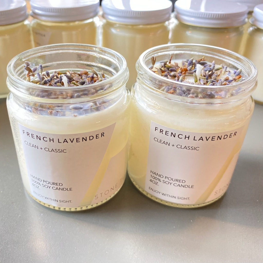 Stone Tulip Goods French Lavender Candle